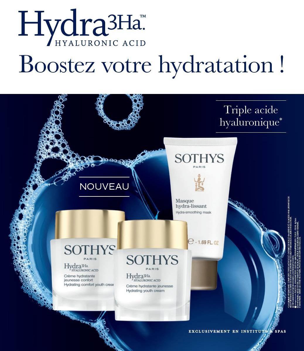 Hydra3Ha - Boostez votre hydratation!